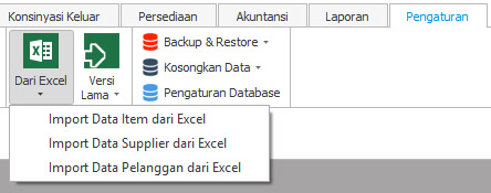 Import Data Dari Excel